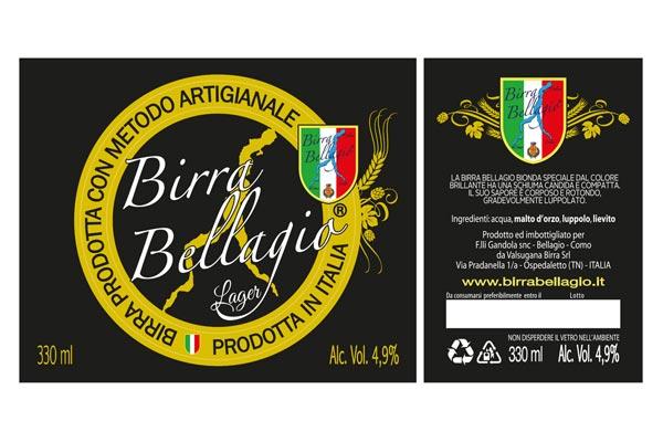 Esempio grafica etichetta birra