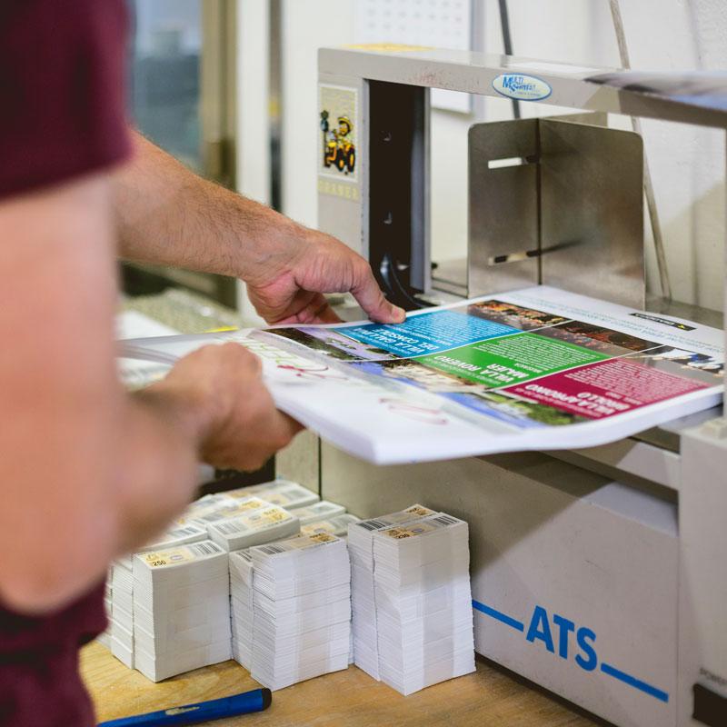 Confezionamento prodotto stampato