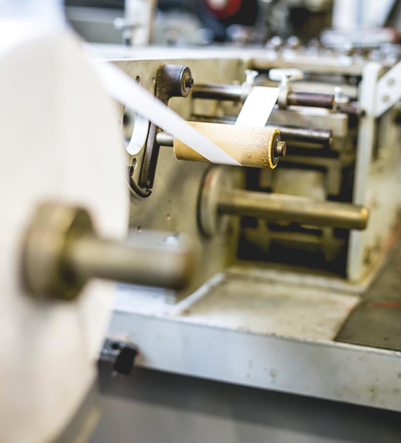 Stampa di etichette tessute