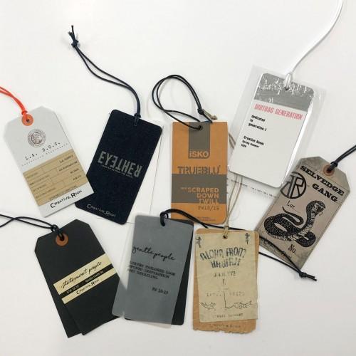 Cartellini abbigliamento